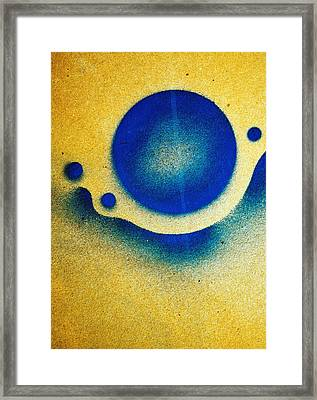Udulation ...two Framed Print by Tom Druin