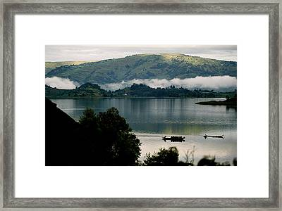 Uganda Bound For The Markets Framed Print by Julian Wicksteed