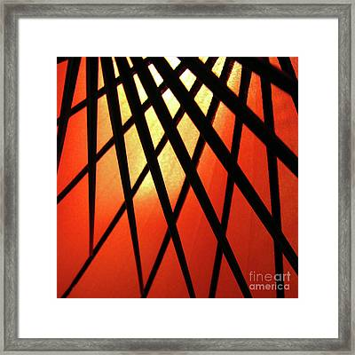 Umbrella 1 Framed Print by CML Brown