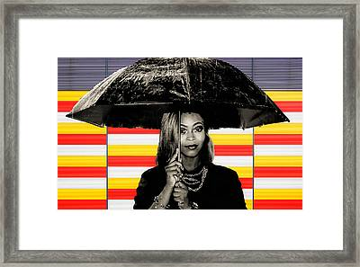 Umbrella  Framed Print by Britten Adams