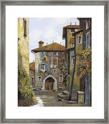 Umbria Framed Print by Guido Borelli