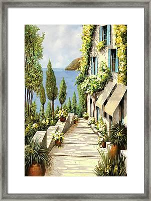 Un Canarino Framed Print by Guido Borelli