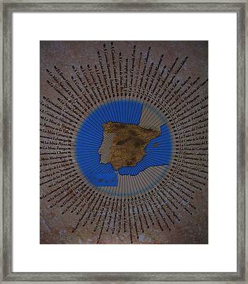 Una Seleccion Especial ... Framed Print by Juergen Weiss