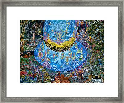 Unai Shipash  Framed Print by Pablo Amaringo