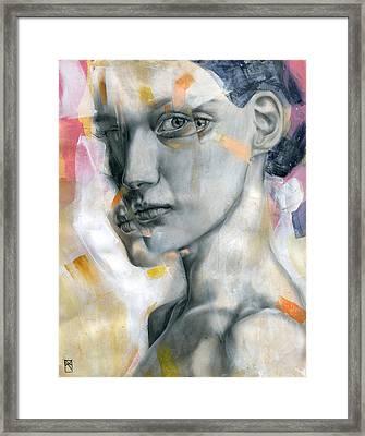 Unbearable Lightness Framed Print by Patricia Ariel