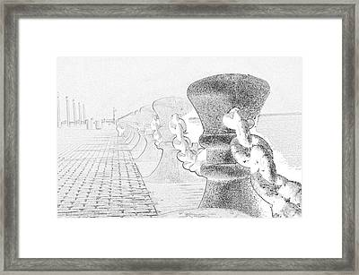 Unchained Melody At The Hall Framed Print by David Bearden