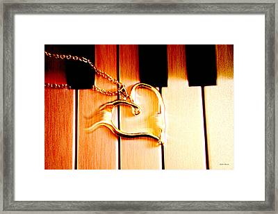 Unchained Melody Framed Print by Linda Sannuti
