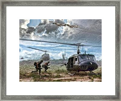 Uncommon Valor Framed Print by Peter Chilelli