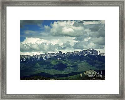 Uncompahgre Colorado Alpine Framed Print by Janice Rae Pariza