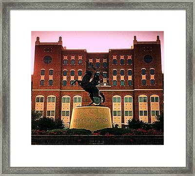 Unconquered Framed Print by Paul  Wilford