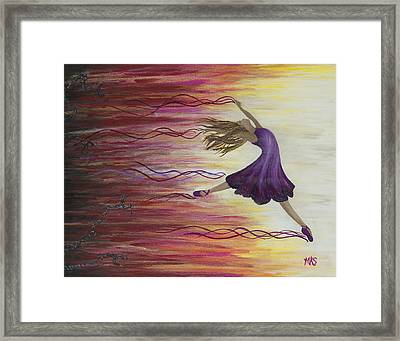 Undaunted Framed Print by Marissa Sievert