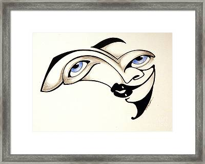 Undecided Framed Print by P Russell