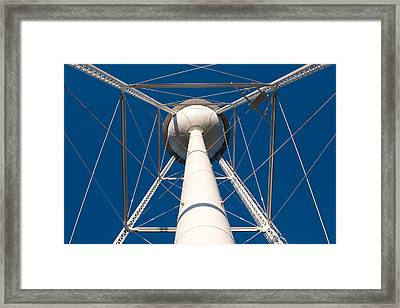 Under A Water Tower Framed Print by Todd Klassy