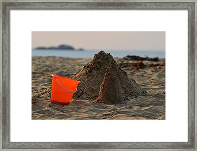 Under Construction Singing Beach Manchester By The Sea Ma Framed Print by Toby McGuire