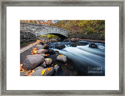Under The Bridge Framed Print by Ernesto Ruiz