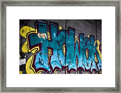 Under The Bridge Framed Print by Sarita Rampersad