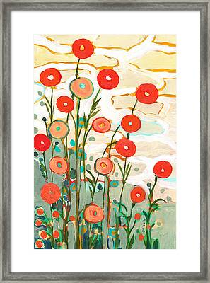 Under The Desert Sky Framed Print by Jennifer Lommers