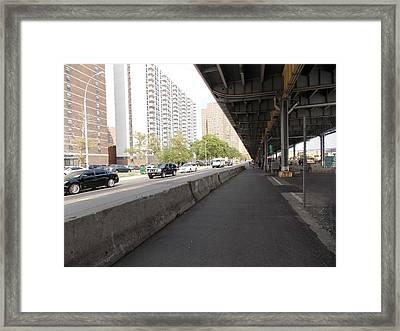 Under The Fdr 1 Framed Print by Nina Kindred