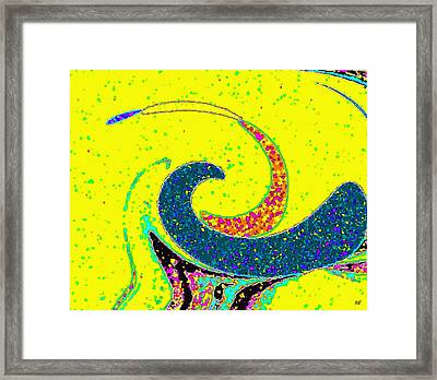 Under The Microscope Framed Print by Will Borden