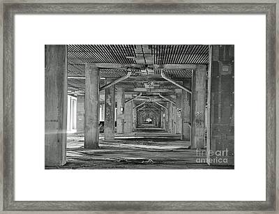 Under The Overpass Framed Print by Reb Frost