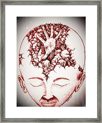 Under The Rubble Framed Print by Paulo Zerbato