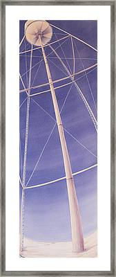 Under The Water Tower Framed Print by Scott Kirby