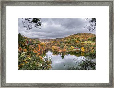 Under Threatening Skies Framed Print by Bill Wakeley
