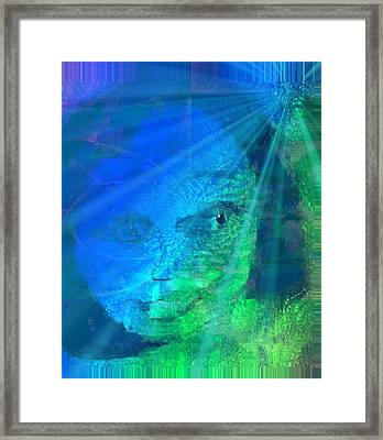 Under Water And Saved Framed Print by Fania Simon