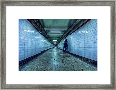 Underground Inhabitants Framed Print by Evelina Kremsdorf