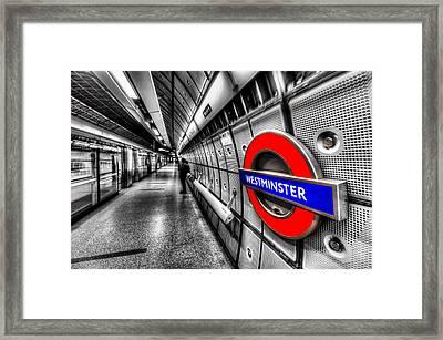 Underground London Framed Print by David Pyatt