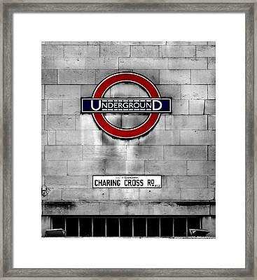 Underground Framed Print by Mark Rogan
