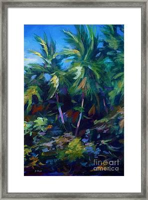 Undergrowth Framed Print by John Clark