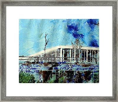 Underpass Framed Print by Cathy S R Read