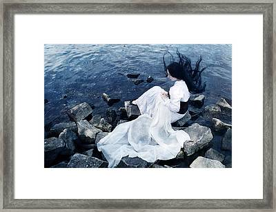 Underwater Framed Print by Cambion Art