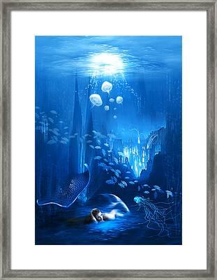 Underwater World Framed Print by Svetlana Sewell