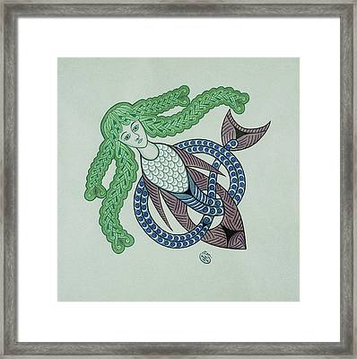 Undine Framed Print by Ian Herriott