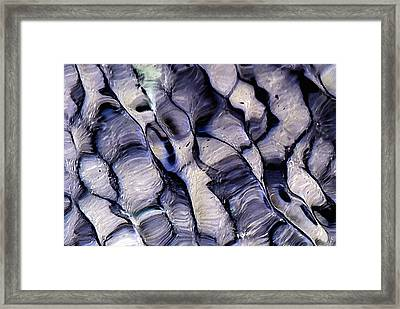 Undulations Framed Print by Edouard Coleman