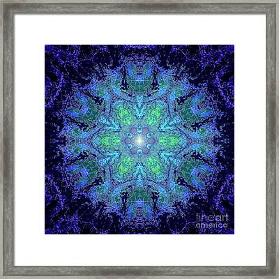 Une Nouvelle Aube Framed Print by Ginette Callaway