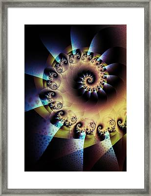 Unfurl Framed Print by David April