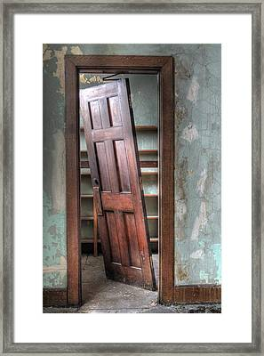Unhinged Framed Print by Jane Linders
