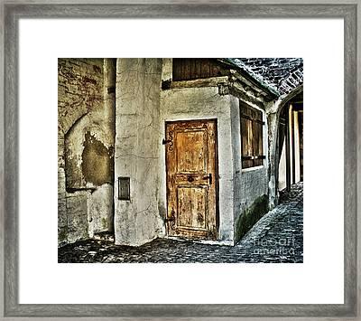 Uninhabitated Framed Print by Jutta Maria Pusl