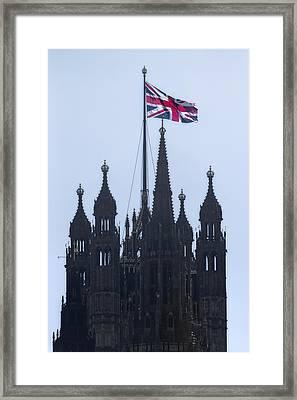 Union Jack Framed Print by Joana Kruse