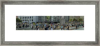 Union Square Framed Print by Joel P Black