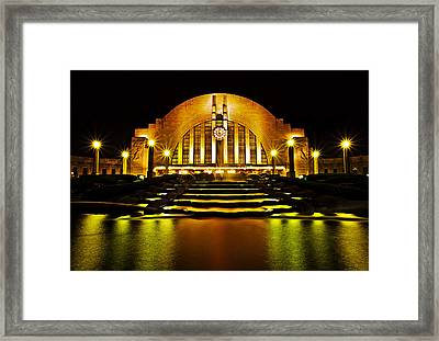Union Terminal Framed Print by Keith Allen