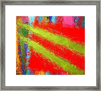 Unison Framed Print by John  Nolan