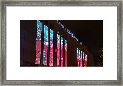United Center Station Framed Print by Britten Adams
