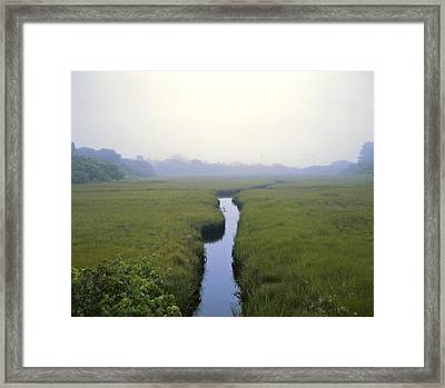 United States, Cape Cod Morning Scene Framed Print by Keenpress