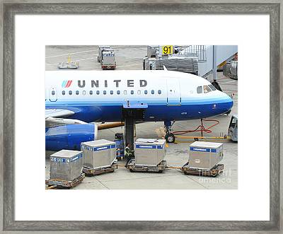 United Framed Print by Wingsdomain Art and Photography