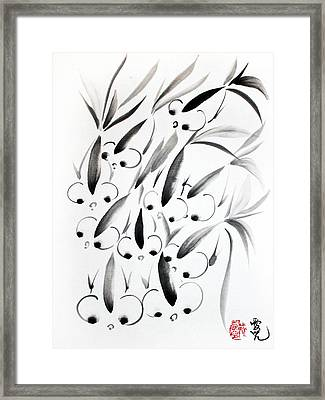 Unity Is Strength Framed Print by Oiyee At Oystudio