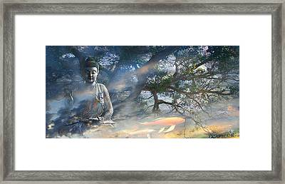 Universal Flow Framed Print by Christopher Beikmann